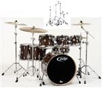 Pacific Concept Maple PDCM2217 7 Piece With Hardware Trans Walnut