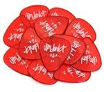 Dunlop 486P Gels Guitar Picks Heavy 12 Pack Red