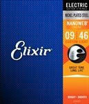 Elixir 12027 NanoWeb Electric Guitar Strings 9-46