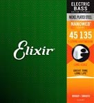 Elixir 14207 Nanoweb 5-String Electric  Bass Guitar String Set