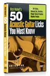 Guitar Lab 50 Acoustic Guitar Licks Guitar Lesson DVD