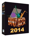 PG Music Band In A Box 2014 Pro Software for Macintosh