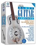 eMedia Blues Guitar Legends Lessons CD