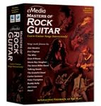 eMedia Masters of Rock Guitar Software