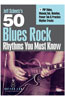 eMedia 50 Blues Rock Rhythms You Must Know DVD