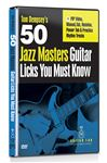 eMedia 50 Jazz Masters Guitar Licks You Must Know DVD