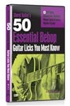 eMedia 50 Essential Bebop Guitar Licks You Must Know DVD