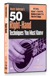 Guitar Lab 50 Right Hand Techniques You Must Know DVD