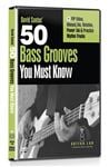 Guitar Lab 50 Bass Grooves You Must Know DVD