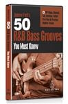eMedia 50 R and B Bass Grooves You Must Know DVD