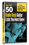 eMedia 50 Radio Rock Licks You Must Know DVD