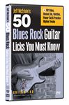 Guitar Lab 50 Blues Rock Licks You Must Know Guitar Instrl DVD