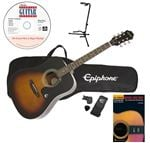 Epiphone DR100 Acoustic Guitar Premium Package