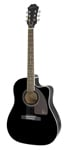 Epiphone AJ220SCE Acoustic Electric Guitar Ebony
