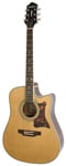 Epiphone Masterbilt DR500MCE Acoustic Electric Guitar Natural
