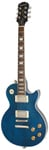 Epiphone Les Paul Tribute Plus Guitar Midnight Sapphire with Case