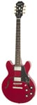 Epiphone ES339 Pro Semi Hollow Electric Guitar Cherry