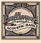 Ernie Ball 2070 Earthwood Phosphor Bronze Acoustic Bass Strings