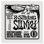 Ernie Ball 2625 8 String Slinky Electric Guitar Strings 10-74