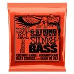 Ernie Ball 2838 Slinky 6 String Bass Guitar Strings