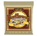Ernie Ball 2004 Earthwood Acoustic 80/20 Bronze Light Guitar Strings