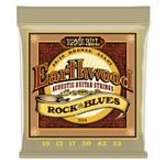 Ernie Ball 2008 Earthwood Rock and Blues Acoustic 80/20 Bronze Strings