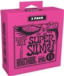 Ernie Ball P03223 Super Slinky Strings 3 Pack