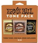 Ernie Ball Acoustic Guitar Strings Holiday Tone Pack