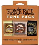 Ernie Ball Medium Light Acoustic Guitar Holiday Tone Pack 12-54