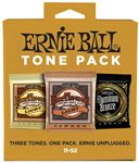 Ernie Ball Light Acoustic Guitar Holiday Tone Pack 11-52