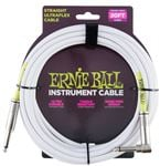 Ernie Ball 20ft Instrument Cable Straight/Angle Ends