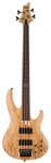 ESP LTD B204 Fretless Electric Bass Guitar Natural Satin