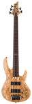 ESP LTD B205SM-FL Fretless 5 String Electric Bass Guitar Natural Satin