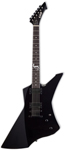 ESP LTD James Hetfield Snakebyte Electric Guitar with Case Black