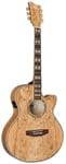 ESP LTD EWSM Xtone Exotic Wood Spalted Maple Acoustic Electric