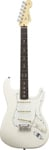 Fender American Standard Stratocaster Olympic White with Case