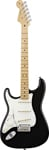 Fender American Standard Stratocaster Left Handed Maple Black W/Case