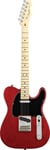 Fender American Standard Telecaster Crimson Transparent Red with Case