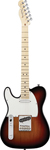 Fender American Standard Tele Left Handed 3 Color Sunburst with Case