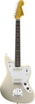 Fender Johnny Marr Jaguar Olympic White with Case