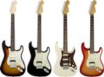 Fender American Deluxe Strat HSS Shawbucker Rosewood with Case