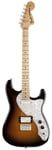 Fender Pawn Shop 70s Stratocaster Deluxe 2 Color Sunburst with Gig Bag
