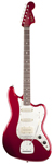 Fender Pawn Shop Bass VI 6 String Bass Guitar Candy Apple Red