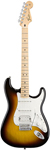 Fender Standard Stratocaster HSS Electric Guitar Maple Brown Sunburst