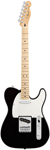 Fender Standard Telecaster Electric Guitar Black