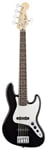 Fender Standard Jazz V 5 String Electric Bass Guitar Black