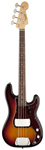 Fender American Vintage 63 Precision Bass 3 Color Sunburst with Case