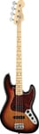 Fender American Standard Jazz Bass 3 Color Sunburst with Case