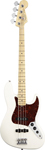 Fender American Standard Jazz Bass Olympic White with Case