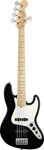 Fender American Standard Jazz V 5 String Black with Case